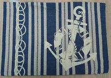 Hossner  Kissen Kissenhülle Kissenbezug Anker Anchor Maritim 33 x 45 Jute