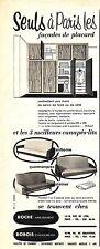 PUBLICITE ADVERTISING 034 1960 ROCHE BOBOIS  meubles canapés lits