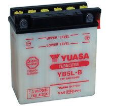 Genuine Yuasa YB5L-B Motorbike Motorcycle 12V Battery