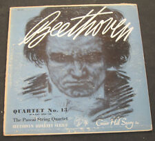 Beethoven String Quartet - Pascal String Quartet  Concert Hall CHS 1210 lp RARE