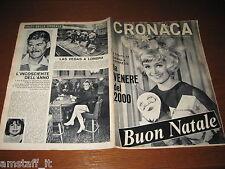 RIVISTA CRONACA=1965/52=DELITTO SANT'ANNA SAVONA=PATTI=CAPACCIO=URSULA ANDRESS=