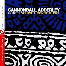Vol. 1-Montreal 1975 - Adderley,Cannonball (2013, CD NEUF)