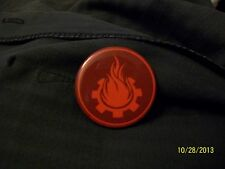 Kaijudo X1 FIRE KMC Civilization Button Mint/Near Mint