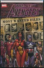 New Avengers: Most Wanted Files #1 (2005, Marvel) 1st Print One-Shot FN/VF