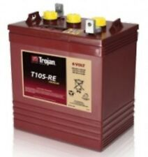 BATTERY TROJAN 6V T105-RE- 225AH FOR SOLAR RENEWABLE ENERGY EACH