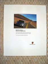 PORSCHE OFFICIAL CAYENNE S SUV ADVERTISING POSTER 2003.