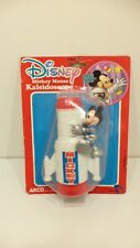 Vintage Disney Mickey Mouse Rocket Ship Kaleidoscope Arco Toys Space Mountain