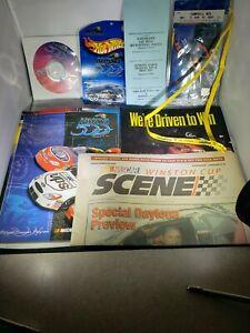 Dale Earnhardt 2001 Daytona 500program hot pass ticket NASCAR ALL INCLUSIVE Plus