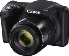 Canon PowerShot SX430 IS 20.0 MP Digital Camera - Black