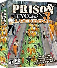 SEALED NEW Prison Tycoon 3 Lockdown PC Computer Video Game jail prisoner lockup