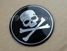 Skull Skeleton Bone Fuel Tank Fairing Wheel Decal Sticker Badge Emblem 4 Harley