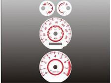 White Face Gauge Kit Fits 2002-2003 Nissan Sentra SE-R Dash Instrument Cluster