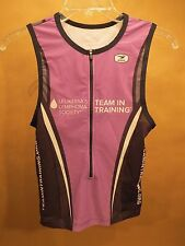 Sugoi Team in Training Triathlon Top • Small • Purple / Black / White • Run Bike