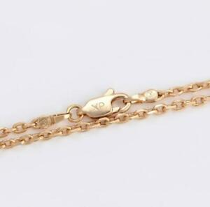 """9ct 9k""""Gold Filled""""2mm Rolled Gold Men Girl Cable chain necklace All sizes Gift"""