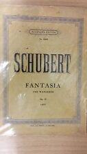 Schubert: Fantasia: The Wanderer: Opus 15: Music Score (G4)
