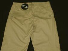 NUEVO CON ETIQUETA Mujer Oakley Elástico Palmer Golf Pantalones W26 L32 UK6