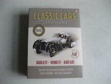 CLOCKWORK WIND UP CAR TOY KIT GRAND TOURER CLASSIC CAR CRAFT RETRO FREE POST