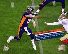 PEYTON MANNING 509th TOUCHDOWN NFL Record 10/19/2014 Denver Broncos 8x10 photo