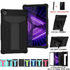 For Lenovo Tab M10 plus TB-X606 X505F Hybrid Rubber Shockproof Case Stand Cover