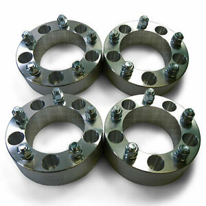 """Four 5x5.5 139.7 Wheel Spacers 2"""" Fit Dodge Ram D100 Ford F-150 F-100 Bronco"""