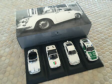 PORSCHE POLICE CAR SET 356 914 911 993 BOXED Ltd Ed 1:43rd MINICHAMPS NEW