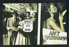 "C1990s Nostalgia Card: 1951 View Cinema Queue To See Film ""Ain't Misbehavin'"""