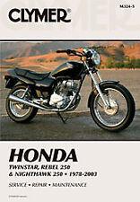 CLYMER 1985-2003 Honda CMX250C Rebel REPAIR MANUAL M324-5