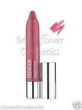 Clinique Chubby Stick ♡ SUPER STRAWBERRY ♡ FULL SIZE & BOXED Pink Lipgloss Balm
