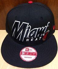 New Era Miami 950 Heat Trucker Snapback Hat Size Adult Color Red / Black