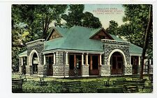 Collett Park—Refreshment Stand—Terre Haute IN Rare Antique PC ca. 1910s