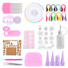 14Pcs/set Paper Quilling DIY Craft Tool Kit Board Hamdmake Paper Crafts Tool