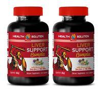 liver detox formula - LIVER SUPPORT COMPLEX 1200MG 2B- milk thistle bulk