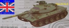 1:144 MINIATURE WARGAMER COLLECTORS FRENCH MILITARY AMX-30 BATTLE TANK MODEL KIT