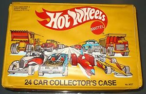 VINTAGE 1983 HOT WHEELS 24 CAR COLLECTOR'S CASE   **EMPTY--NO CARS**