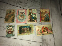 Vintage Postcards Valentines Thanksgiving New Year Posted Handwritten 1909 Ohio