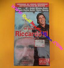 film VHS RICCARDO III UOMO RE Al Pacino sigillata SPEAK UP inglese (F96) no dvd