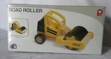 Pintoy Construction Series WOODEN Road Roller-RETIRED-Sealed