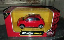 Modellino Motorama Fiat 500 colore rosso, scala 1:43