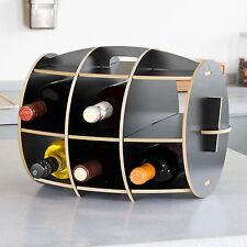 SoBuy selbst montiertes Flaschenregal,Getränkeregal  Weinregalsystem, FRG67-SCH