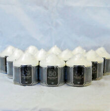 Pack Of 12 Church Candle 50 Hour Ivory Wedding Non Drip Unscented pillar