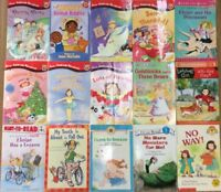 Girl Character Assorted Lot (8 Books) Level 1 Readers FREE SHIPPING!!