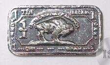 Fine .999 Tin Ingot, One Gram, Pure Buffalo Bar, Collectable Fractional Bullion