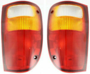 FIT FOR MAZDA PICK UP TRUCK 2001 - 2010 REAR TAIL LAMP RIGHT & LEFT PAIR SET