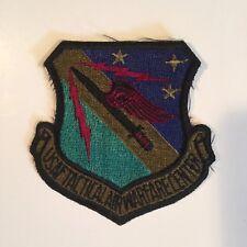 UNITED STATES AIR FORCE TACTICAL AIR WARFARE CENTER PATCH U.S.A.F.