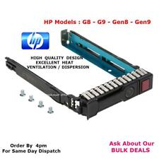 "HP 651687-001 2.5"" SAS/SATA disco duro hot-swap Caddy.G8.G9.G10.Gen8Gen9Gen10"