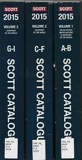 "All Six Volumes of the ""2015 Scott Standard Postage Stamp Catalogue"""