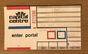 1976 WINGS OVER AMERICA WASHINGTON CONCERT TICKET STUB PAUL MCCARTNEY BEATLES A