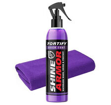 Shine Armor Fortify - Ceramic Water Less Wash Protect Car Wax + Microfibre Cloth