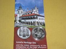 Slowakei 20 Euro Silber 2017 BU  UNESCO Levoca
