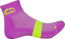 More Mile Preventer Twin Skin Womens Running Socks - Pink